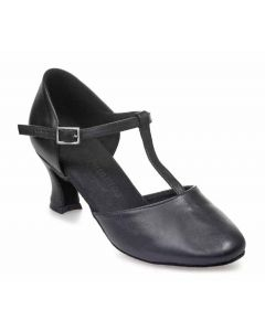 Black Leather - Heel 50