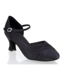 Black Satin - Heel 50